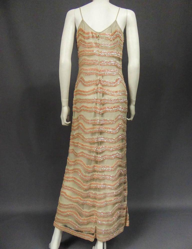 Giorgio Armani Couture fashion show dress worn by Claudia Cardinale - Circa 2000 For Sale 6