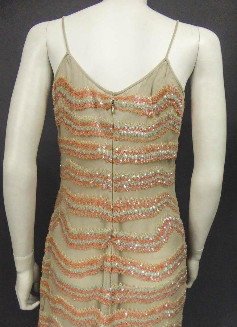 Giorgio Armani Couture fashion show dress worn by Claudia Cardinale - Circa 2000 For Sale 7