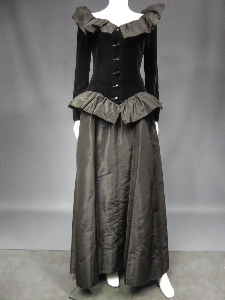 Women's Givenchy Couture Evening Dress Circa 1980  For Sale