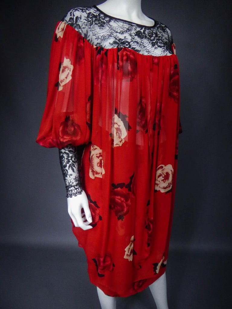Yves Saint Laurent Haute Couture set (attributed to) Circa 1989 For Sale 1
