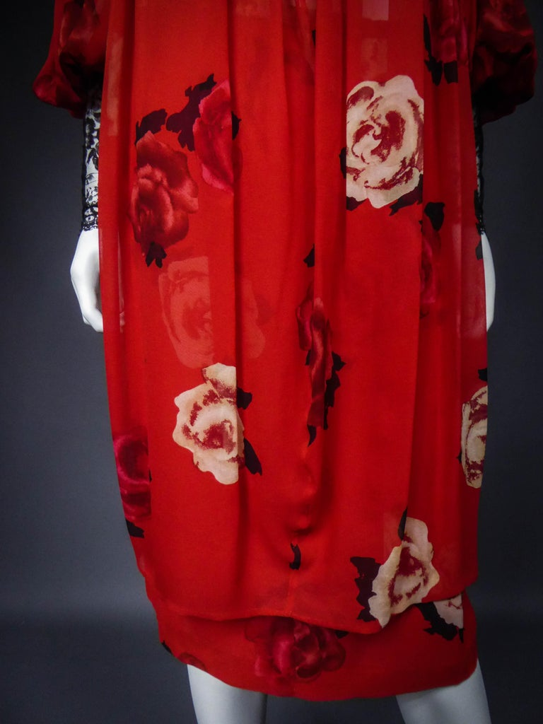 Yves Saint Laurent Haute Couture set (attributed to) Circa 1989 For Sale 4