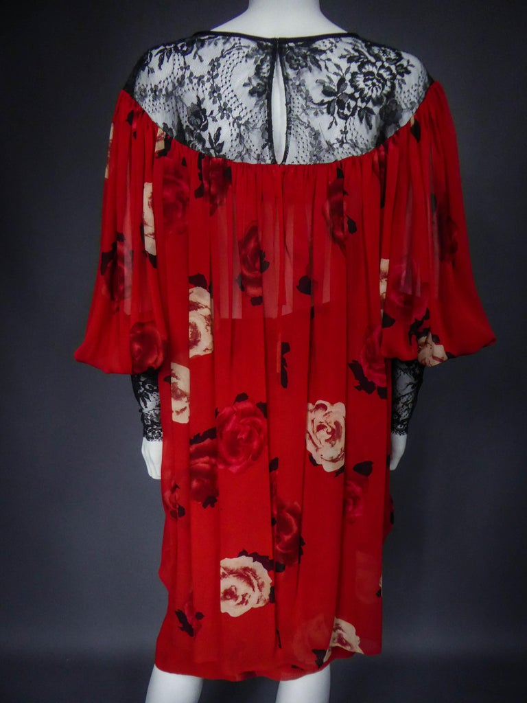 Yves Saint Laurent Haute Couture set (attributed to) Circa 1989 For Sale 6