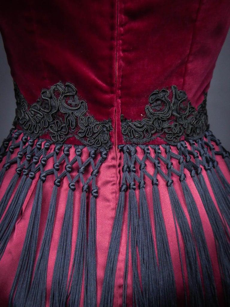 Christian Lacroix Couture Dress Circa 1990 For Sale 5