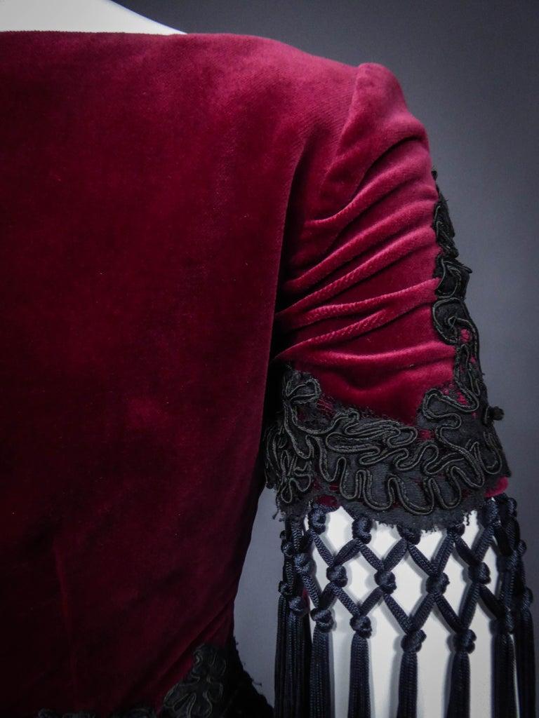 Christian Lacroix Couture Dress Circa 1990 For Sale 6