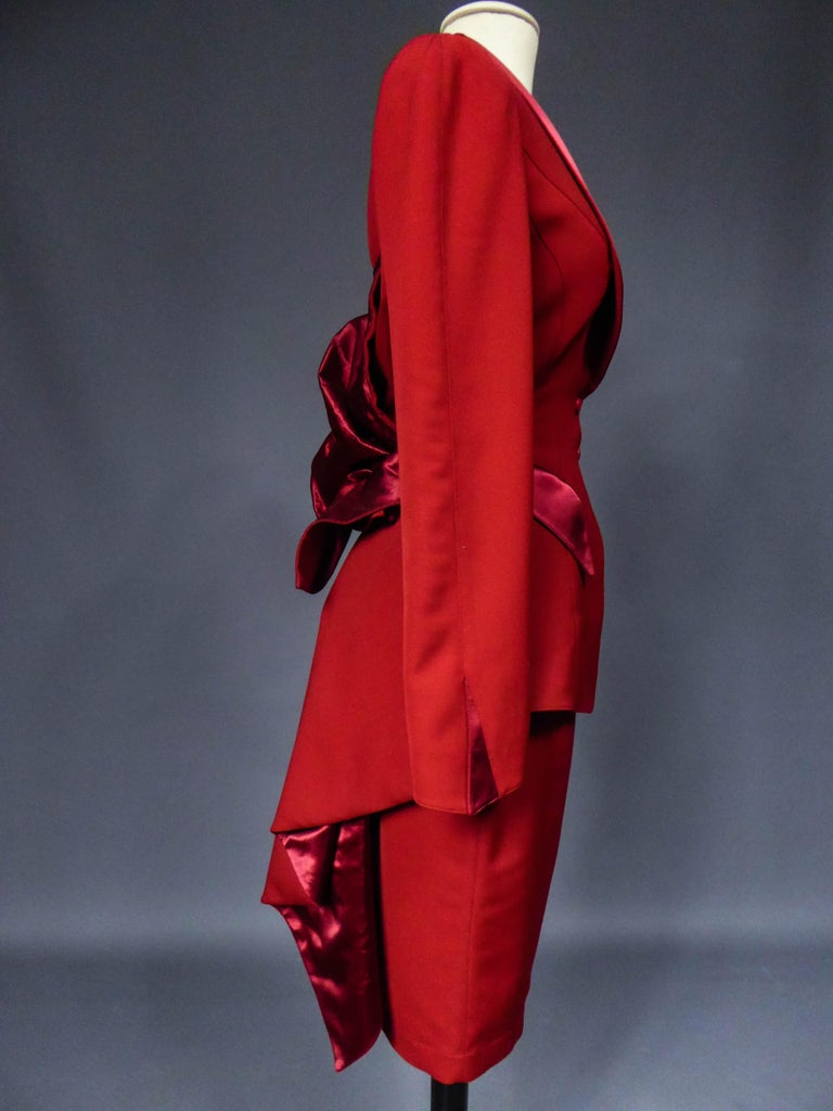 Thierry Mugler Couture Skirt Set Circa 1990 For Sale 3