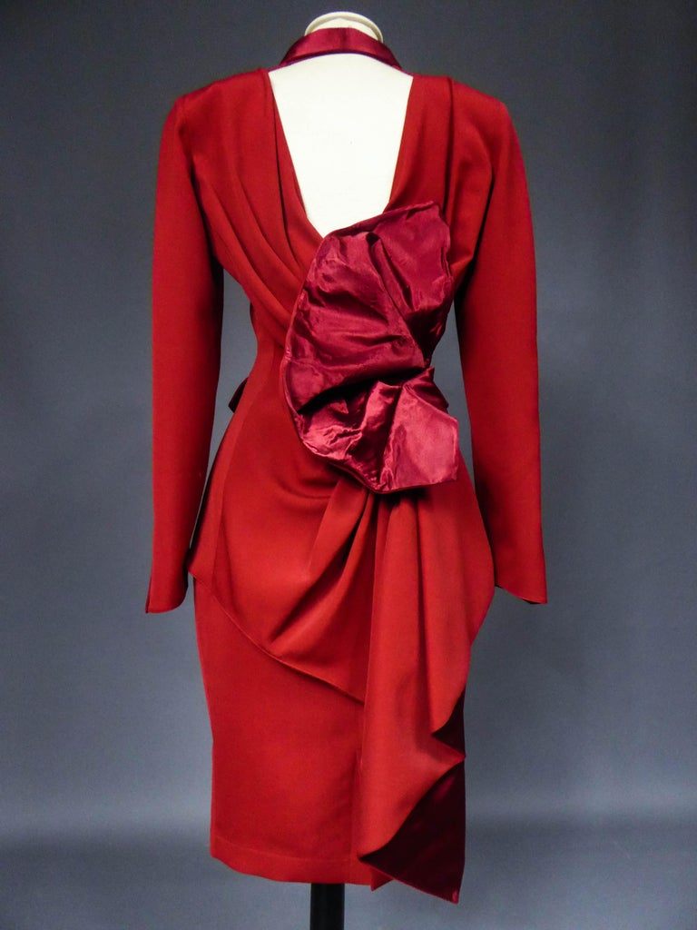 Thierry Mugler Couture Skirt Set Circa 1990 For Sale 4