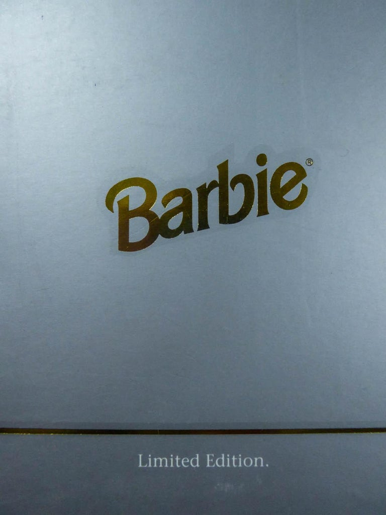 Christian Dior Limited Collection Barbie Doll numbered 13168 Circa 1995 In Excellent Condition For Sale In Toulon, FR