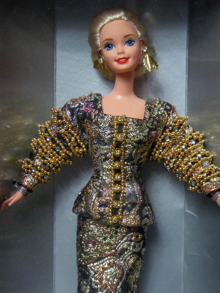 Christian Dior Limited Collection Barbie Doll numbered 13168 Circa 1995 For Sale 4