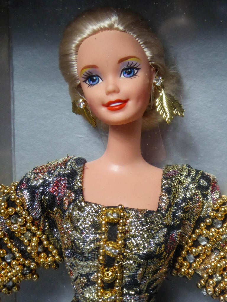 Christian Dior Limited Collection Barbie Doll numbered 13168 Circa 1995 For Sale 7