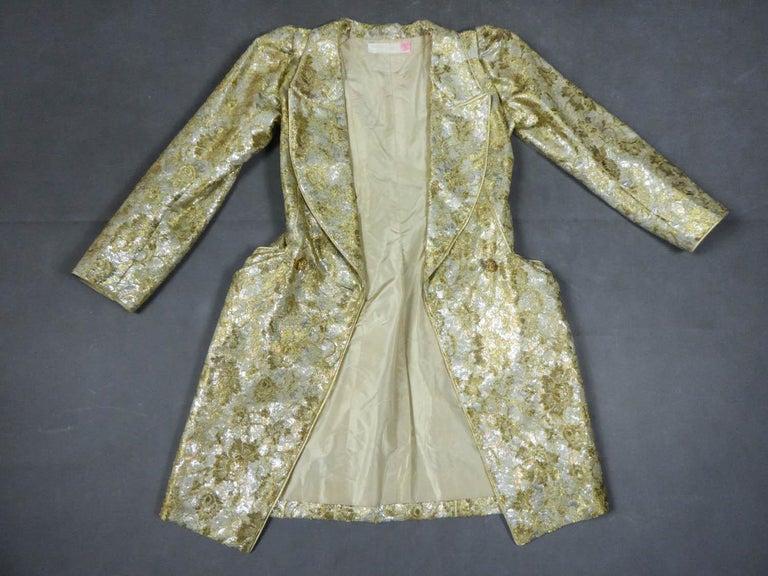 Brown Emanuel Ungaro Couture Evening Dress Circa 1990 For Sale