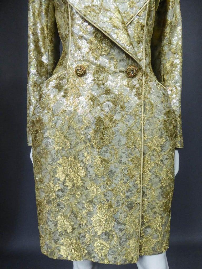 Emanuel Ungaro Couture Evening Dress Circa 1990 For Sale 1