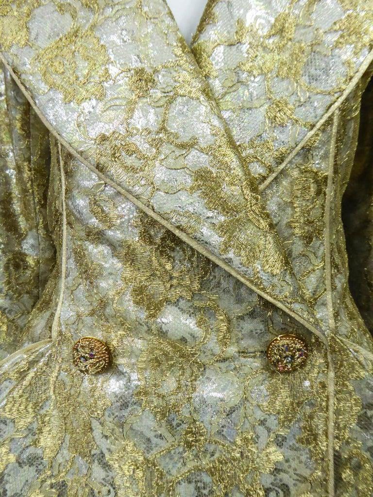 Emanuel Ungaro Couture Evening Dress Circa 1990 For Sale 2