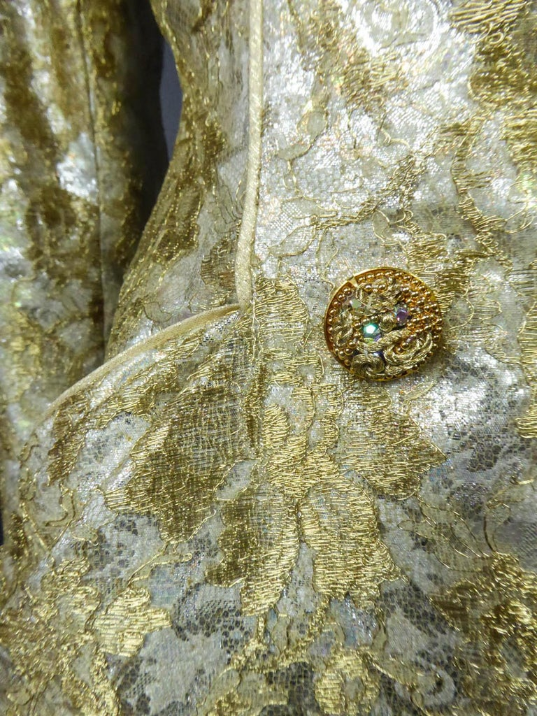 Emanuel Ungaro Couture Evening Dress Circa 1990 For Sale 3
