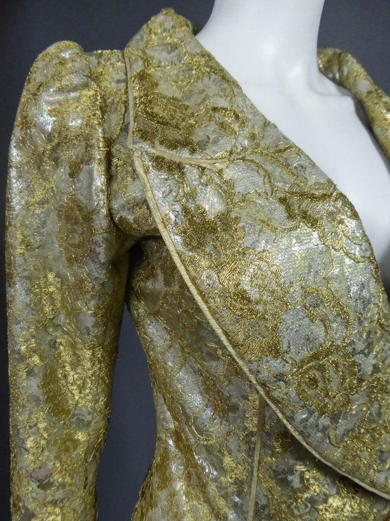 Emanuel Ungaro Couture Evening Dress Circa 1990 For Sale 5
