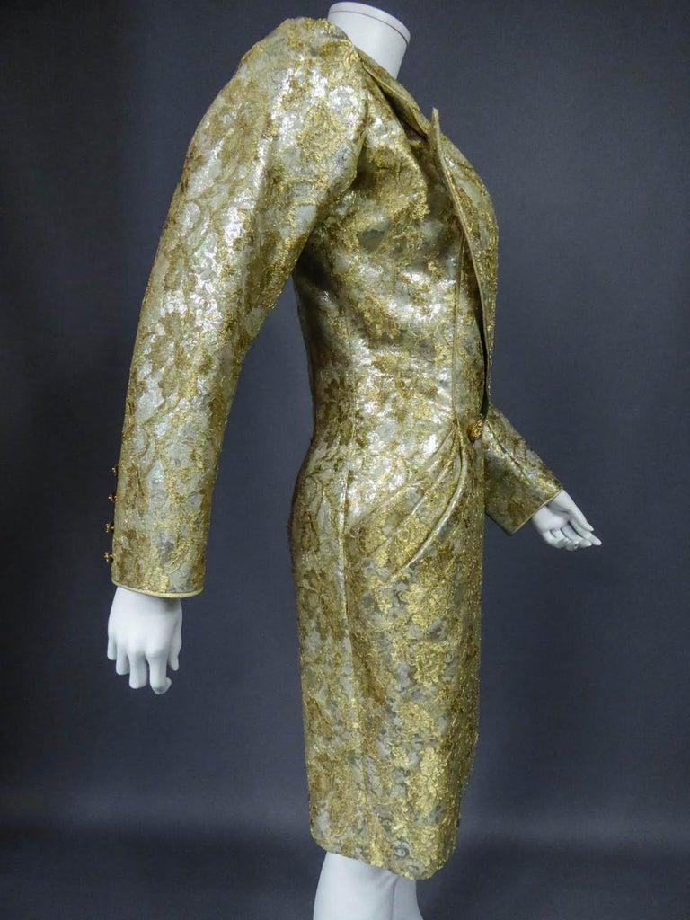 Emanuel Ungaro Couture Evening Dress Circa 1990 For Sale 6