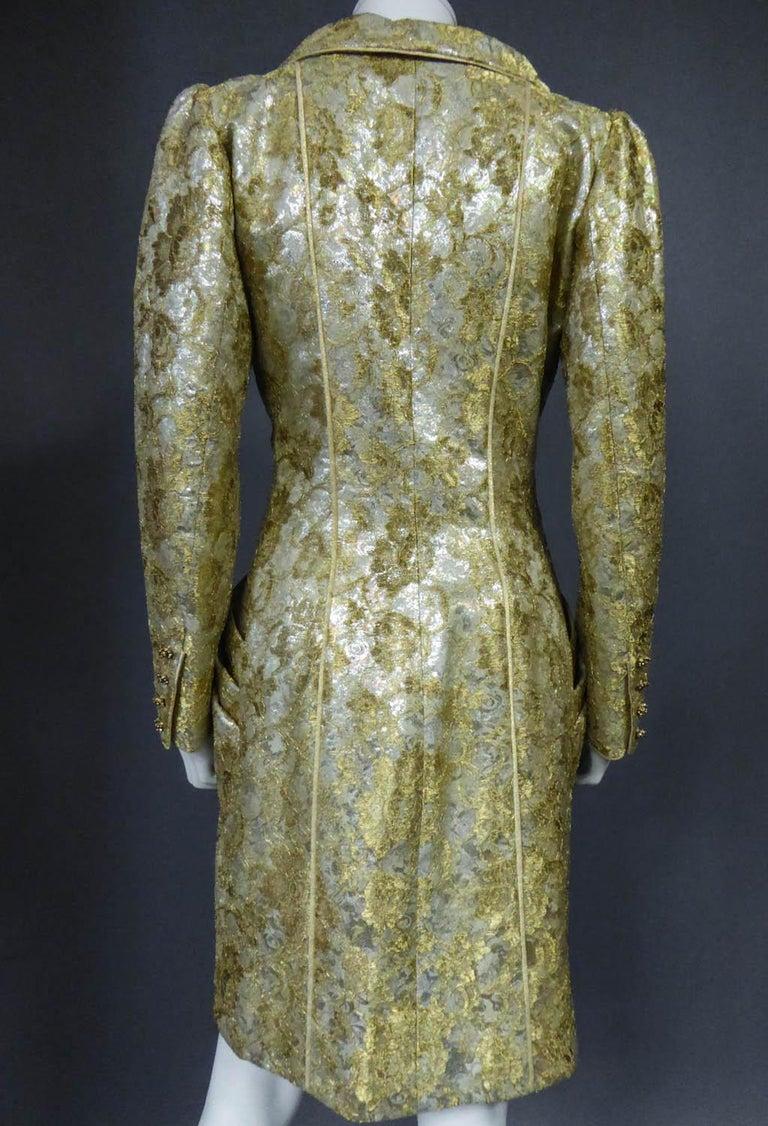 Emanuel Ungaro Couture Evening Dress Circa 1990 For Sale 7