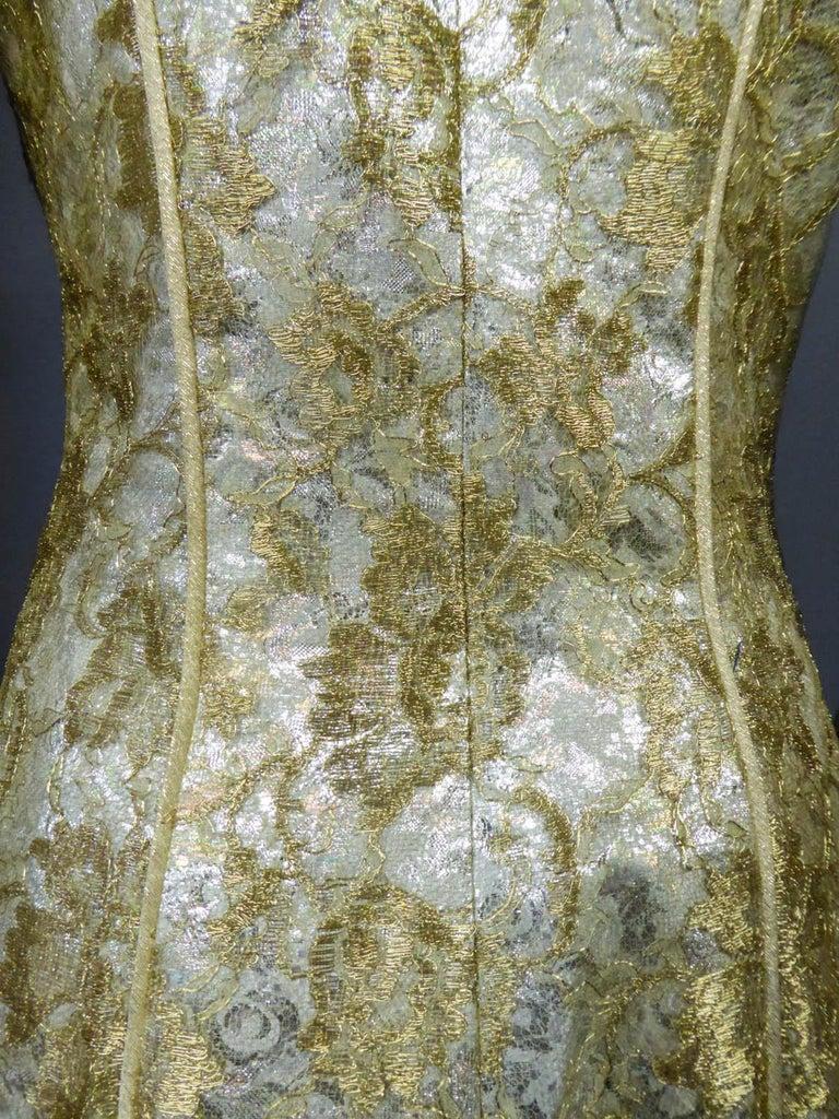 Emanuel Ungaro Couture Evening Dress Circa 1990 For Sale 8
