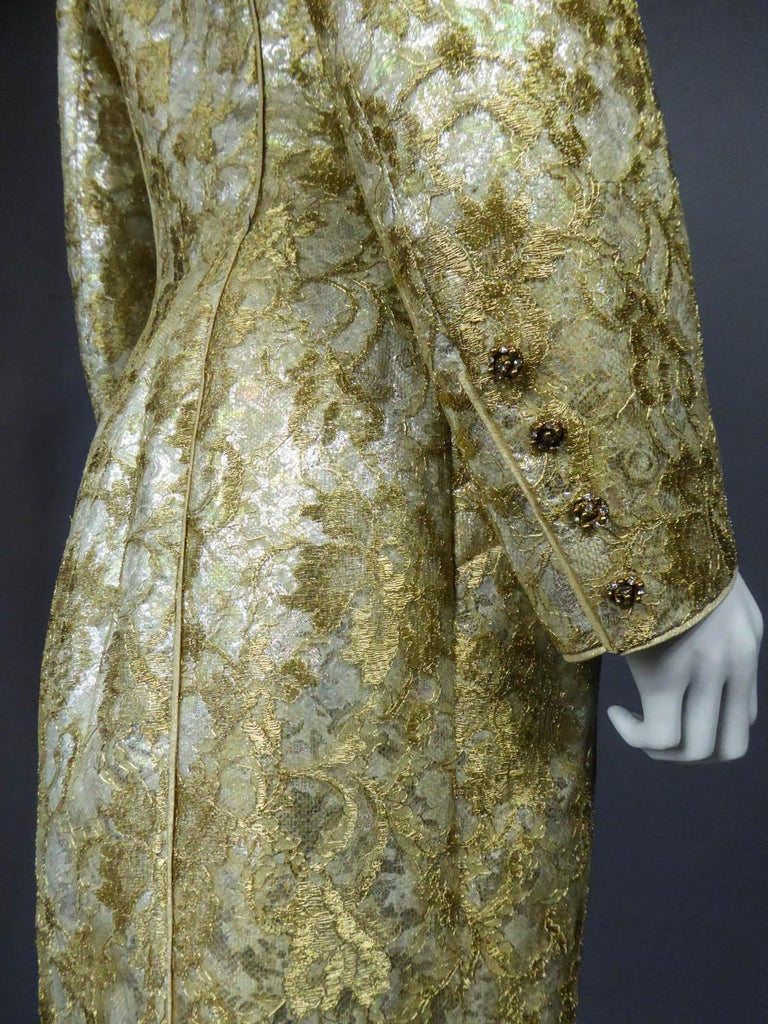 Emanuel Ungaro Couture Evening Dress Circa 1990 For Sale 9