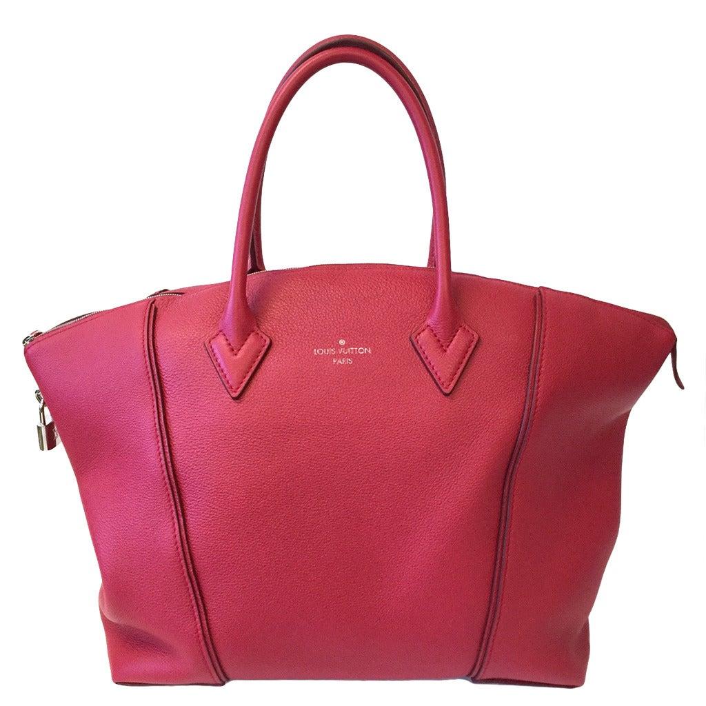 Louis Vuitton Soft Lockit Mm Bag At 1stdibs