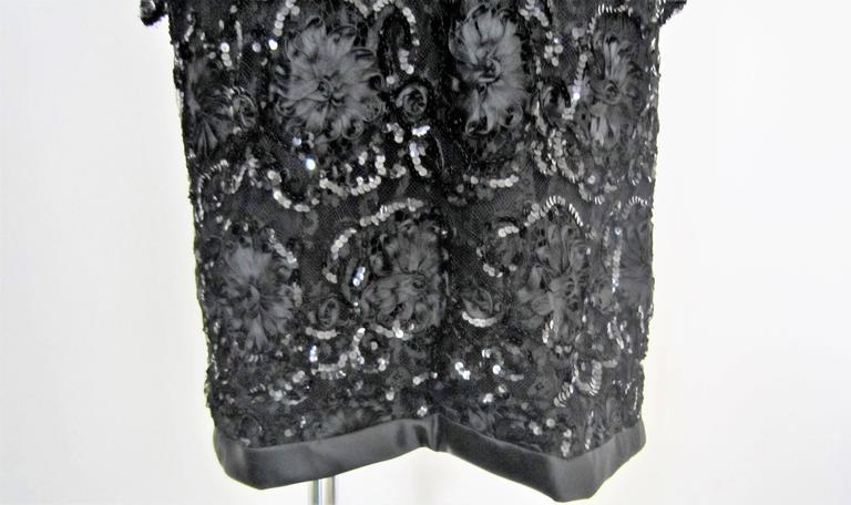 Yves Saint Laurent Patron Original Paris Haute Couture evening Dress For Sale 2