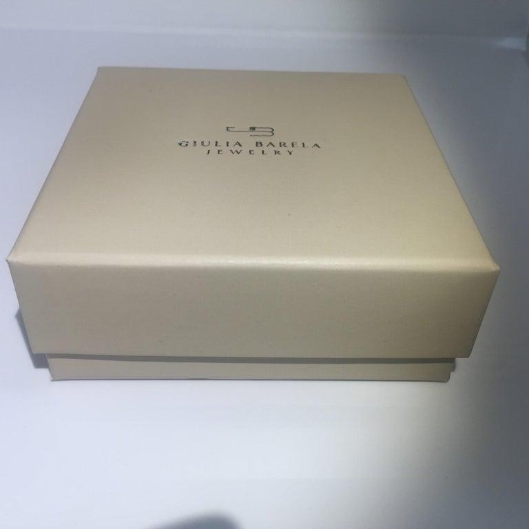Giulia Barela 24 karat Cameliae Ring, gold plated bronze For Sale 5