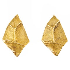 Giulia Barela 24 karat Gold Plated Bronze Franky Small Earrings