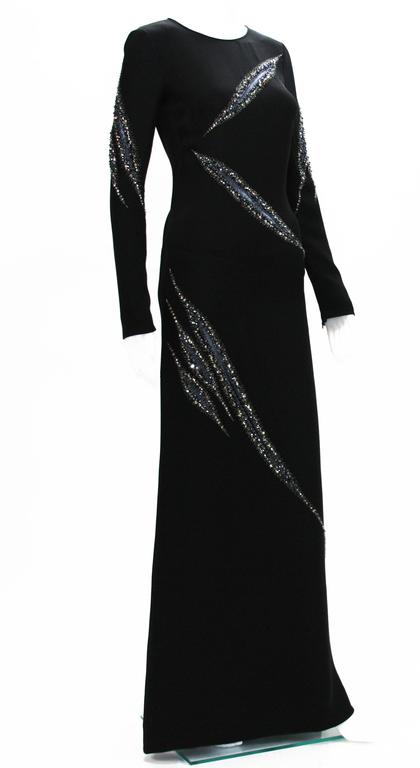 Emilio Pucci Embellished Gown Eva Longoria Wore to the ALMA Awards It 38 US 4 In Excellent Condition For Sale In Montgomery, TX