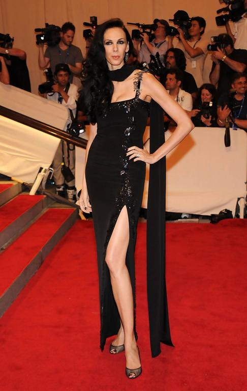 New $7500 L'WREN SCOTT S/S 2010 Represent Her *MADAME DU BARRY* Black Dress Gown In New Condition For Sale In Montgomery, TX