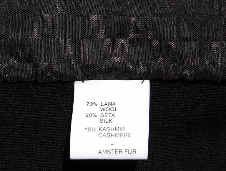 TOM FORD for GUCCI New Hamster Fur Wool Silk Cashmere Cardigan Sweater Jacket S 9