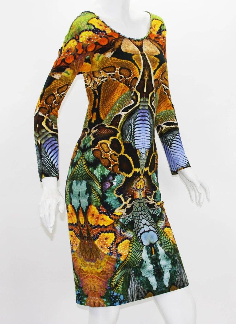 Black Alexander McQueen Plato's Atlantis Collection Stretch Dress, S / S 2010  For Sale