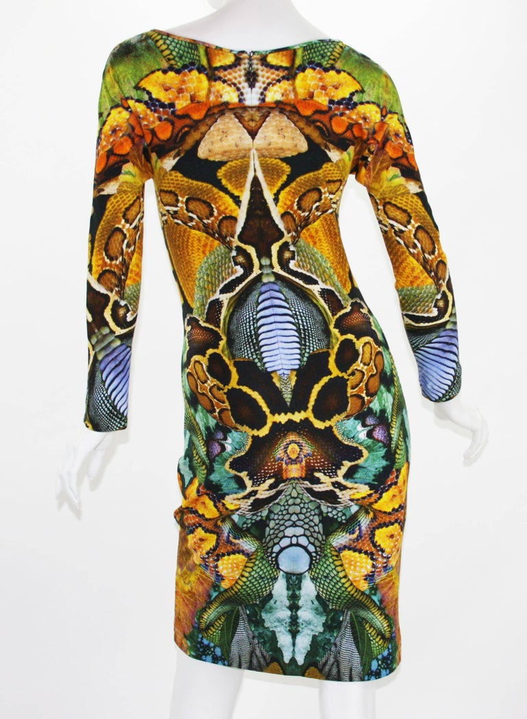 Alexander McQueen Plato's Atlantis Collection Stretch Dress, S / S 2010  In New Condition For Sale In Montgomery, TX