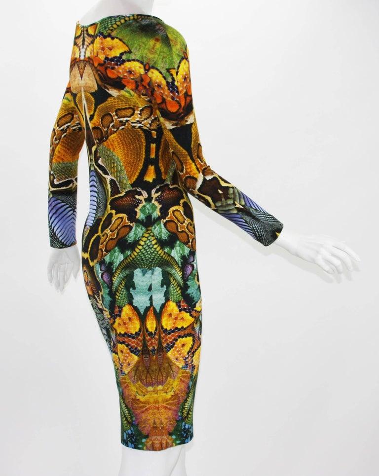 Women's Alexander McQueen Plato's Atlantis Collection Stretch Dress, S / S 2010  For Sale