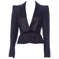 New Tom Ford for Yves Saint Laurent F/W 2004 Chinoiserie Tuxedo Jacket Fr.40 - 8