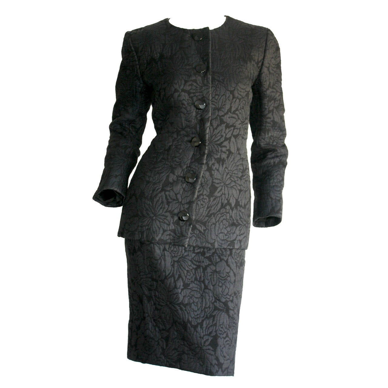 bd46bab26 Vintage Yves Saint Laurent Haute Couture Numbered Skirt Suit - Stunning!
