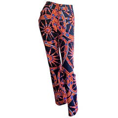 Amazing Dolce & Gabbana Italianate Nautical Cotton Trouser Pants