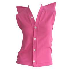 1990s Vintage Comme des Garcons Hot Pink ' Judy Jetson ' Shirt Blouse
