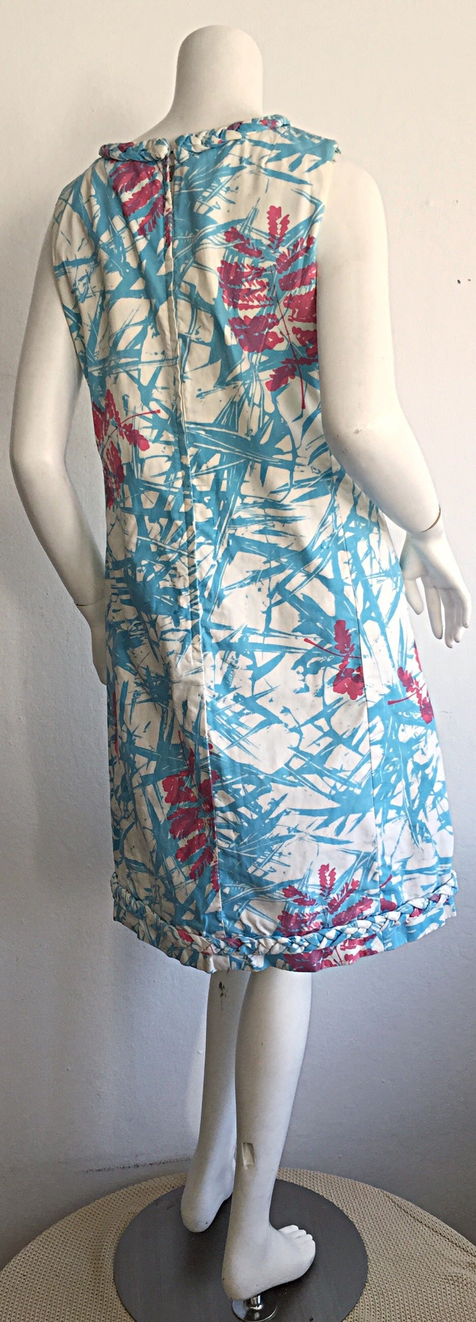 Rare 1960s Vintage ' THe Lilly ' by Lilly Pulitzer ' Thorn ' Cotton Shift Dress 4