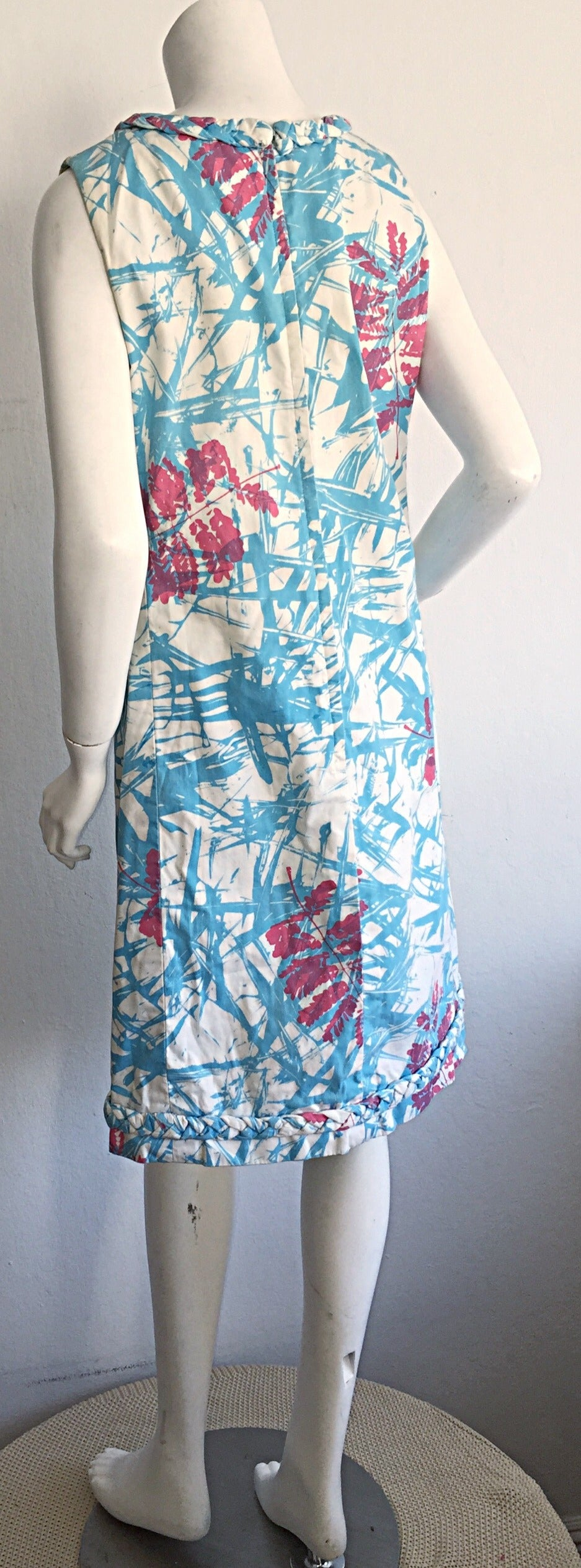 Rare 1960s Vintage ' THe Lilly ' by Lilly Pulitzer ' Thorn ' Cotton Shift Dress 7