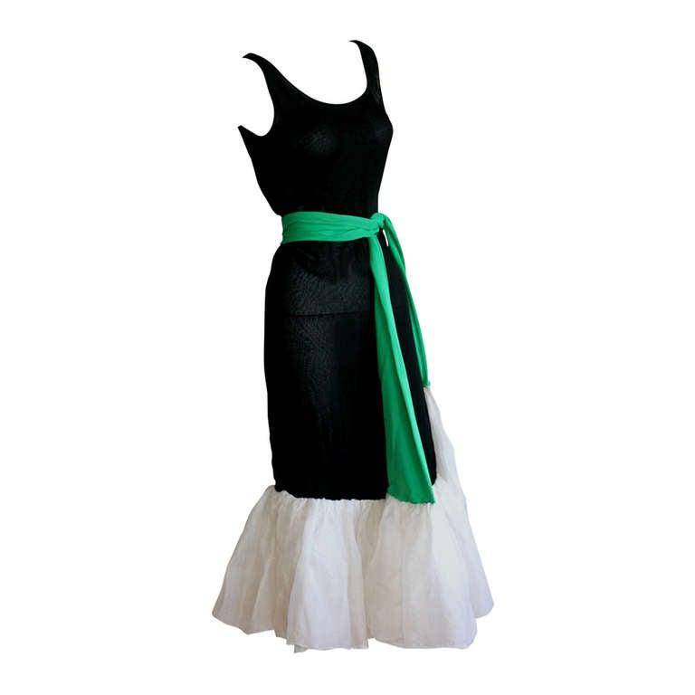 Important 1960s Vintage Pierre Cardin Clover Dress ...