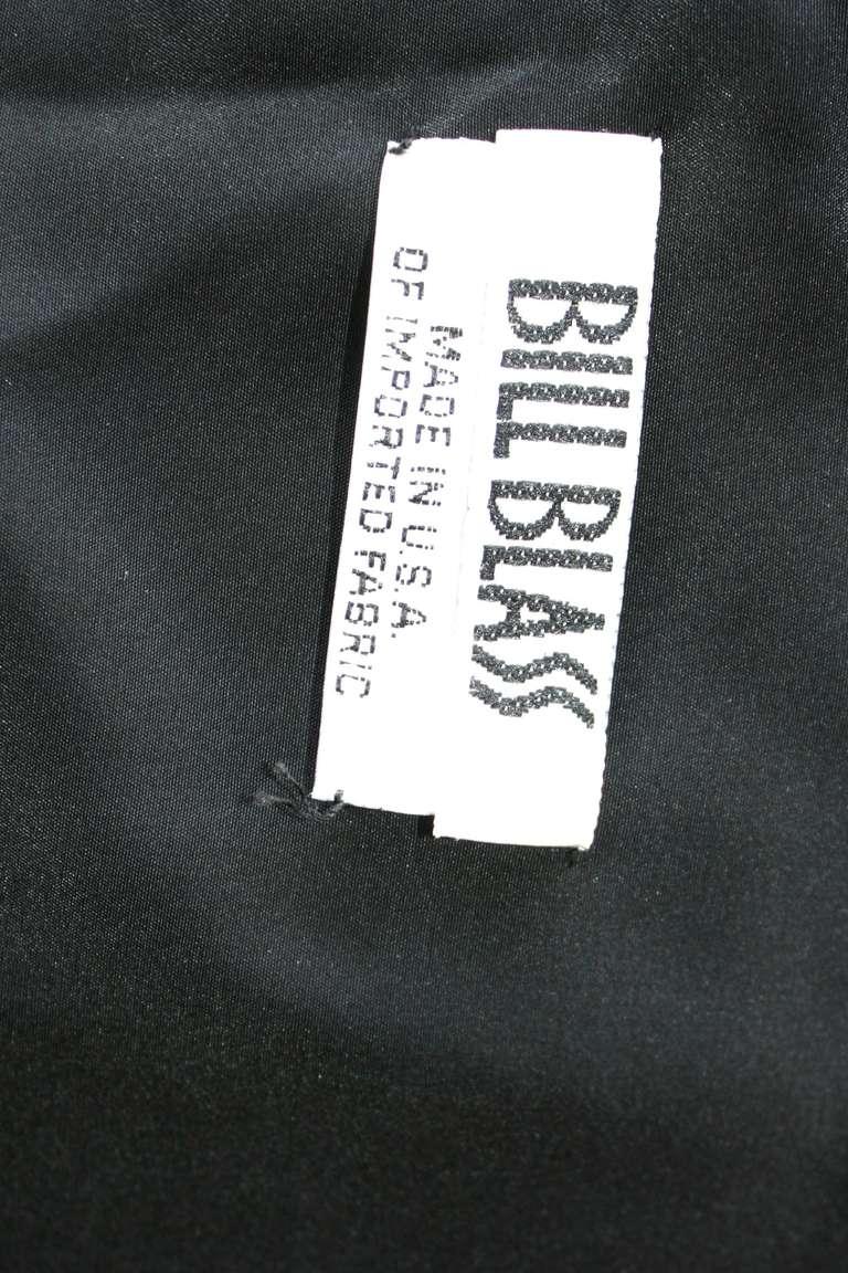 Stunning Vintage Bill Blass Gown Avant Garde Pink + Red Black Bow Dress / Gown 1