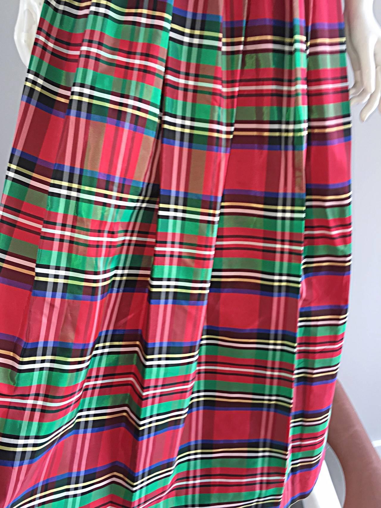 Rare Very Early Vintage Ellen Tracy For Bonwit Teller Silk