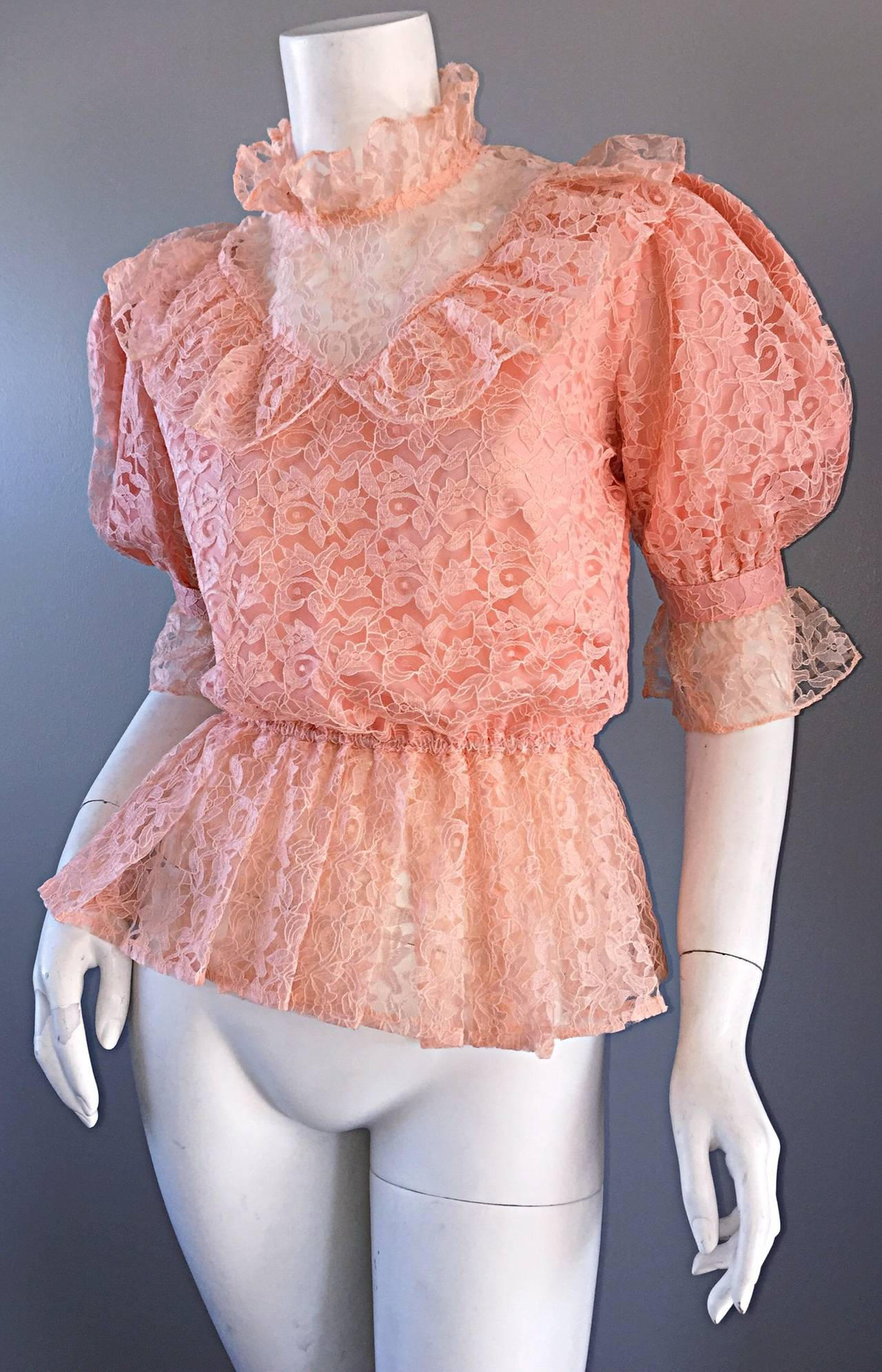 Puff Sleeve Blouses