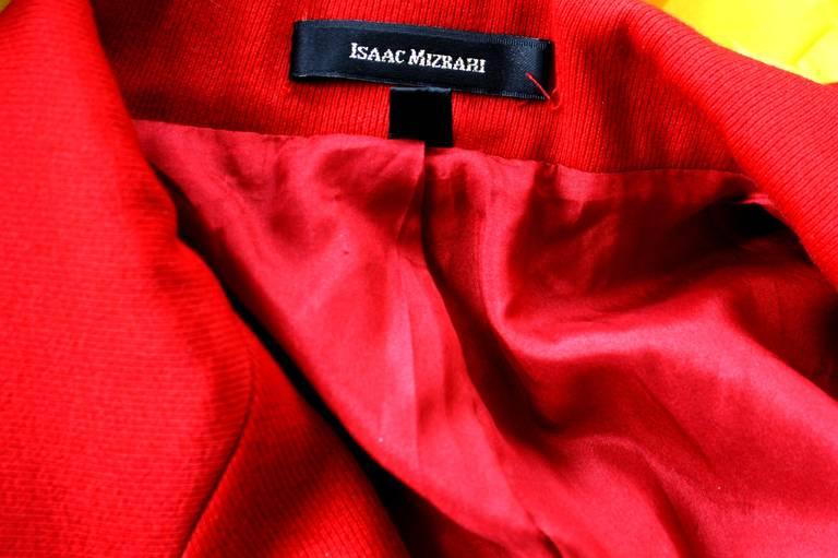 Isaac Mizrahi Vintage Lipstick Red Holiday Le Smoking Suit 6