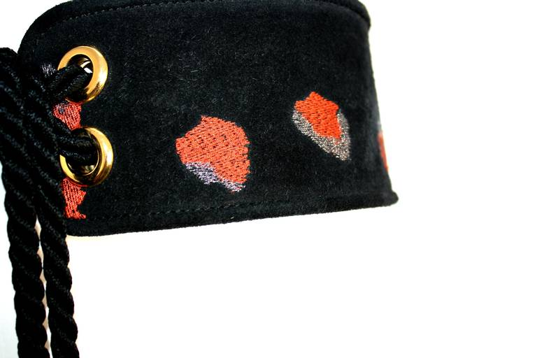 "Stunning Vintage Yves Saint Laurent Belt From Famous "" Russian Collection "" 3"