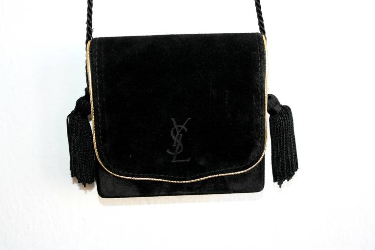 "laurent handbags - Early Vintage Yves Saint Laurent "" Russian Collection "" Logo ..."