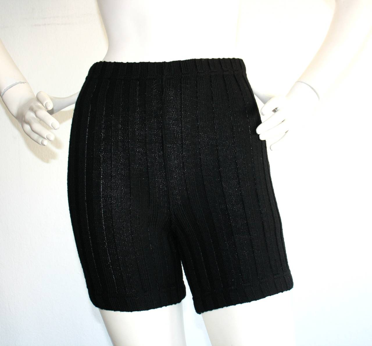 Iconic 1960s Rudi Gernreich For Harmon Knits Shorts and Top Ensemble 3