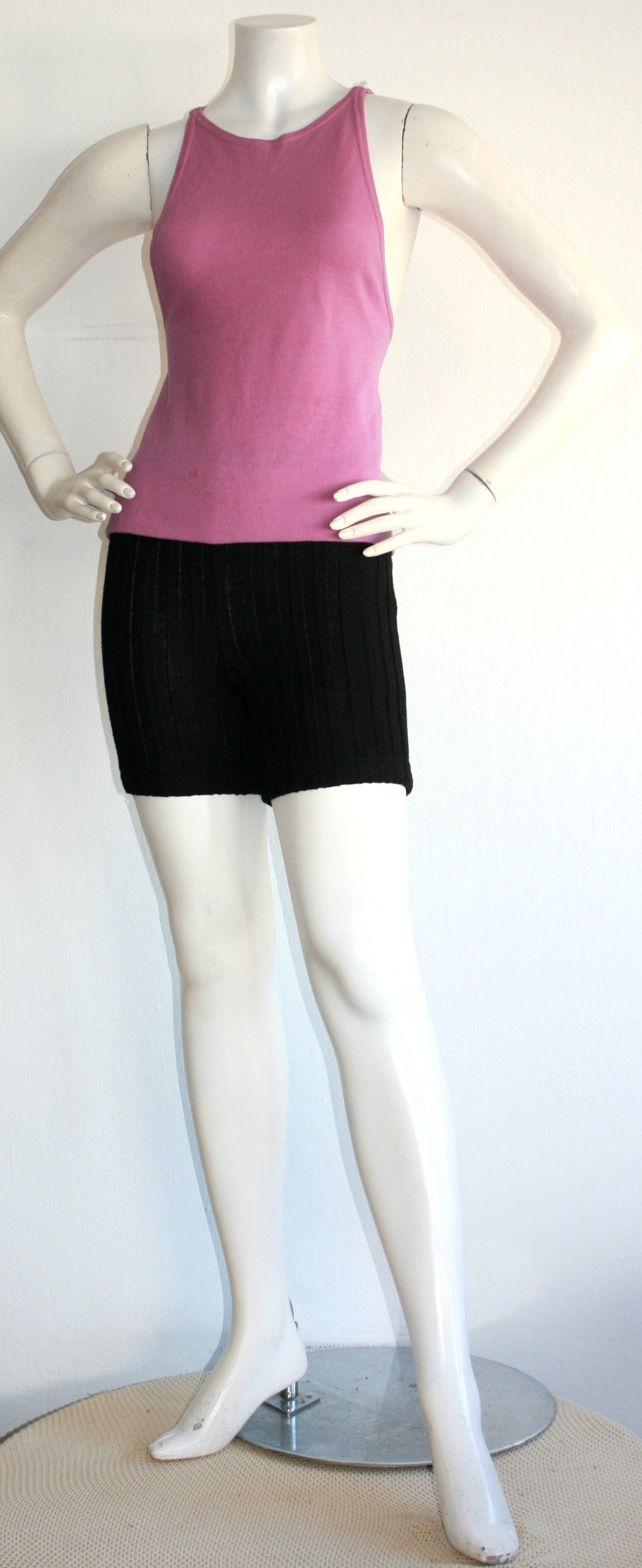 Iconic 1960s Rudi Gernreich For Harmon Knits Shorts and Top Ensemble 4