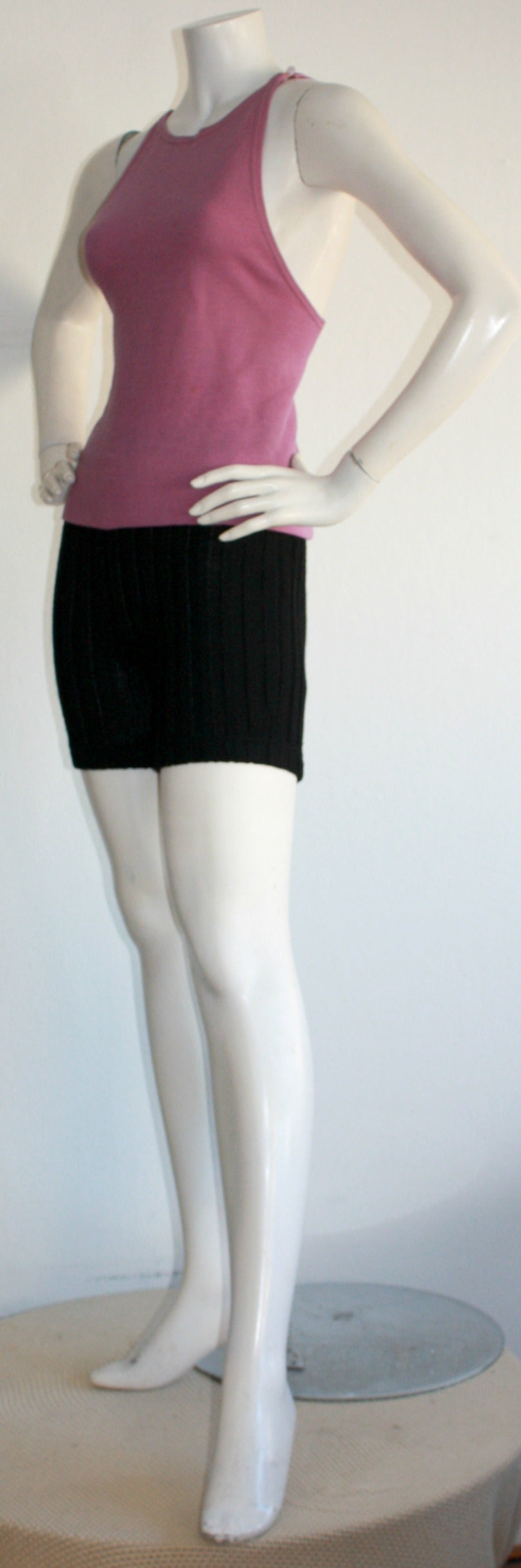 Iconic 1960s Rudi Gernreich For Harmon Knits Shorts and Top Ensemble 2