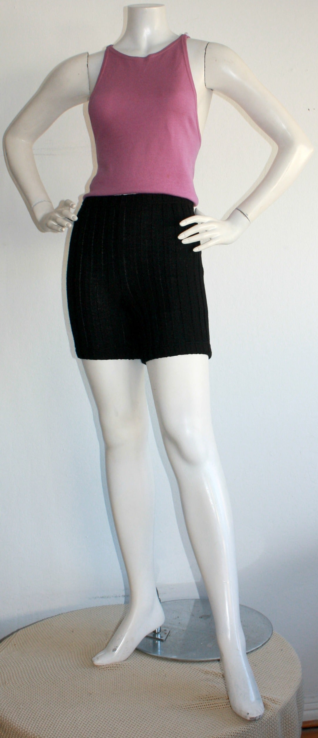 Iconic 1960s Rudi Gernreich For Harmon Knits Shorts and Top Ensemble 5