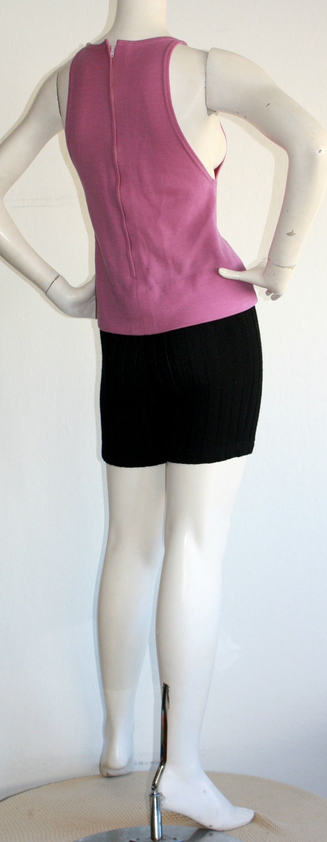 Iconic 1960s Rudi Gernreich For Harmon Knits Shorts and Top Ensemble 6